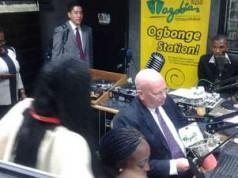 American Ambassador in Nigeria speaks Pidgin English